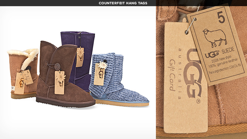 Counterfeit Info | Buy Authentic UGG Products | UGG