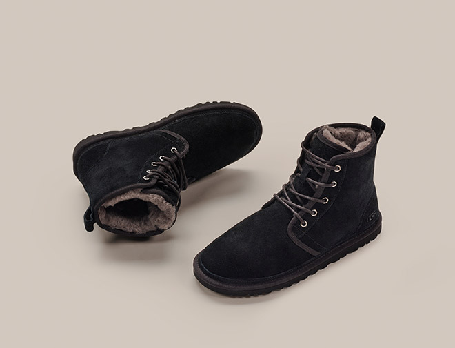 UGG Men's New Arrival Sheepskin Boots and Slippers