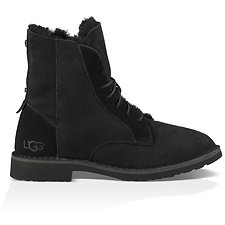 Image of UGG BLACK QUINCY BOOT