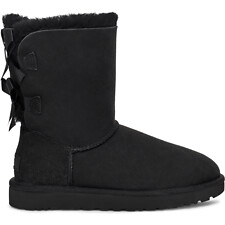 Image of UGG BLACK BAILEY BOW II