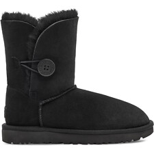 Image of UGG BLACK BAILEY BUTTON II