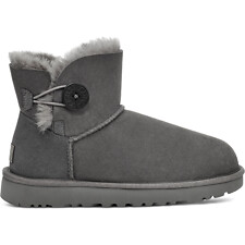 Image of UGG GREY MINI BAILEY BUTTON II