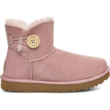 Image of UGG PINK CRYSTAL MINI BAILEY BUTTON II