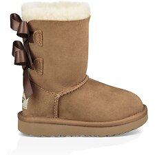 Image of UGG CHESTNUT TODDLERS BAILEY BOW