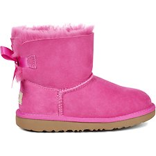 Image of UGG PINK AZALEA KIDS MINI BAILEY BOW II