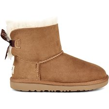 Image of UGG CHESTNUT TODDLERS MINI BAILEY BOW II