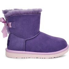 Image of UGG VIOLET BLOOM TODDLER MINI BAILEY BOW II