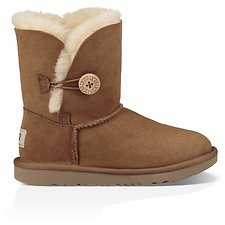 Image of UGG CHESTNUT KIDS BAILEY BUTTON II