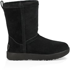 Image of UGG BLACK CLASSIC SHORT WATERPROOF