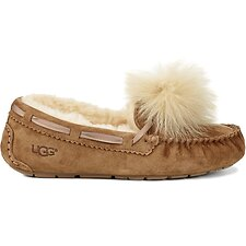 Image of UGG CHESTNUT DAKOTA POM POM