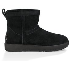 Image of UGG BLACK CLASSIC MINI WATERPROOF