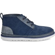 Image of UGG PACIFIC BLUE NEUMEL UNLINED LEATHER