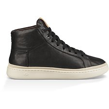 Image of UGG BLACK CALI SNEAKER HIGH LEATHER
