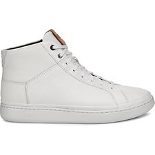 Image of UGG WHITE CALI SNEAKER HIGH LEATHER