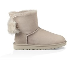 Image of UGG WILLOW FLUFF BOW MINI