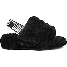 Image of UGG BLACK FLUFF YEAH