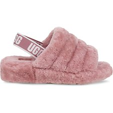 Image of UGG PINK DAWN FLUFF YEAH SLIDE