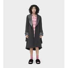Image of UGG BLACK BEAR HEATHER DUFFIELD II ROBE