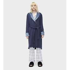 Image of UGG NAVY HEATHER DUFFIELD II ROBE