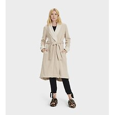 Image of UGG OATMEAL HEATHER DUFFIELD II ROBE