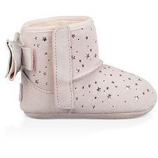 Image of UGG BABY PINK INFANTS JESSE BOW II STARGIRL BOOTIE