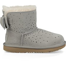 Image of UGG SEAL KIDS STARGIRL CLASSIC MINI II BOW