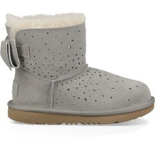Image of UGG SEAL TODDLERS STARGIRL CLASSIC MINI II BOW