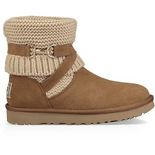 Image of UGG CHESTNUT PURL STRAP BOOT