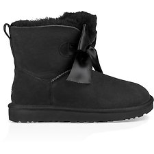 Image of UGG BLACK GITA BOW MINI
