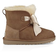 Image of UGG CHESTNUT GITA BOW MINI