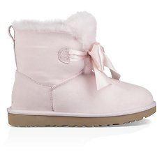 Image of UGG SEASHELL PINK GITA BOW MINI