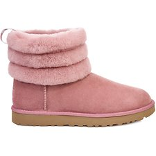 Image of UGG PINK DAWN FLUFF MINI QUILTED