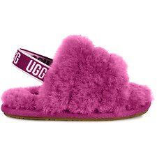 Image of UGG FUCHSIA INFANTS FLUFF YEAH SLIDE