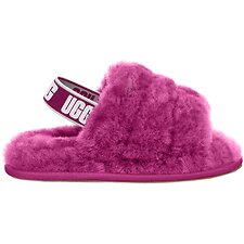 Image of UGG FUCHSIA TODDLER FLUFF YEAH SLIDE