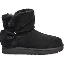 Image of UGG BLACK CLASSIC MINI TWIST
