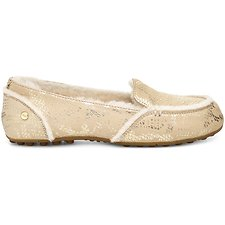 Image of UGG GOLD HAILEY METALLIC SNAKE