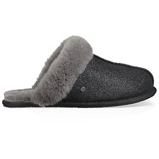 Image of UGG BLACK SCUFFETTE II SPARKLE