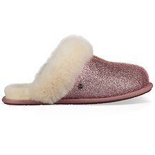 Image of UGG PINK SCUFFETTE II SPARKLE