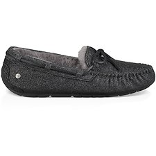 Image of UGG BLACK DAKOTA SPARKLE