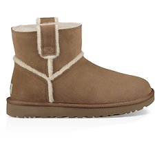 Image of UGG CHESTNUT CLASSIC MINI SPILL SEAM