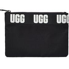 Image of UGG BLACK MEDIUM SPORT ZIP POUCH