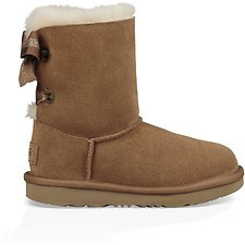 Image of UGG CHESTNUT KIDS CUSTOMIZABLE BAILEY BOW