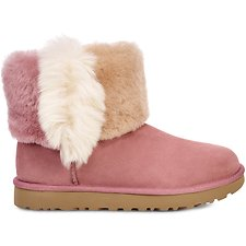 Image of UGG PINK DAWN CLASSIC MINI WISP