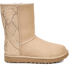 Image of UGG GOLD CLASSIC SHORT METALLIC SNAKE