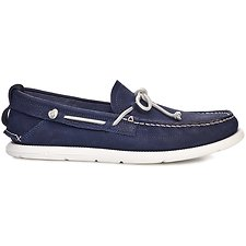Image of UGG TRUE NAVY BEACH MOC SLIP-ON
