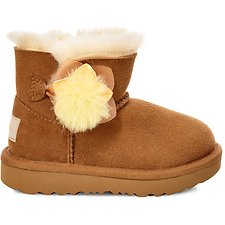 Image of UGG CHESTNUT TODDLERS MINI BAILEY II CACTUS FLOWER