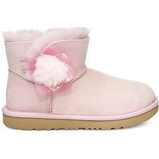 Image of UGG SEASHELL PINK TODDLERS MINI BAILEY II CACTUS FLOWER