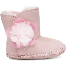 Image of UGG SEASHELL PINK INFANTS CASSIE CACTUS FLOWER