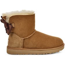 Image of UGG CHESTNUT MINI BAILEY BOW II GLAM