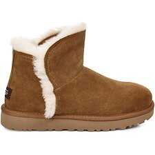 Image of UGG CHESTNUT CLASSIC MINI FLUFF HIGH-LOW